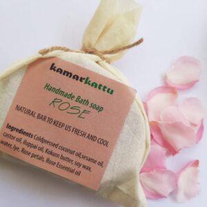 Handmade Bath Soap - Rose